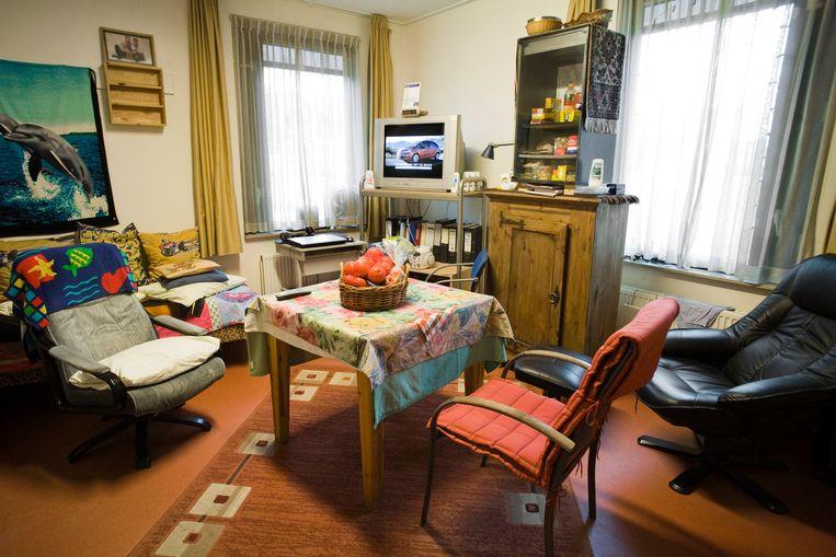 De kamer van een longstaybewoner in tbs-inrichting Veldzicht. Beeld Rob Huibers