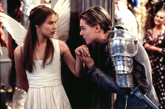Van romantiek tussen Romeo en Juliet was op de set dus geen sprake.
