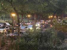 Loeidruk Vroesenpark ontruimd: 'Het was een groot lachgasfestijn!'
