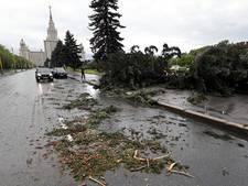 Zestien doden door noodweer Moskou