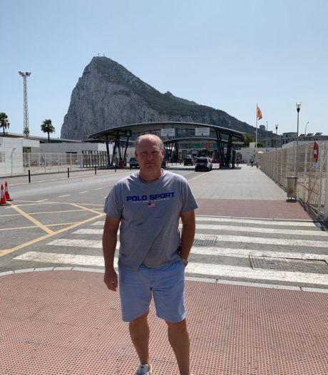 Tukker Bennie Brinkman, 'clubeigenaar' in Gibraltar, wil op termijn met zijn spelers Europa in