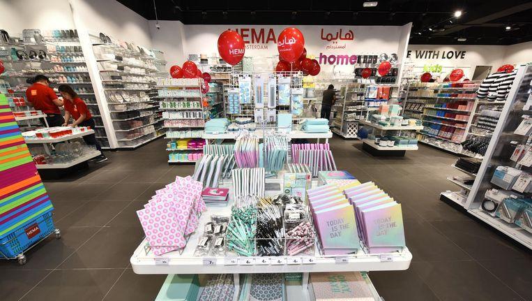 Het eerste filiaal in Abu Dhabi moet de opmaat vormen voor meer winkels in bijvoorbeeld Dubai en Qatar Beeld Hema