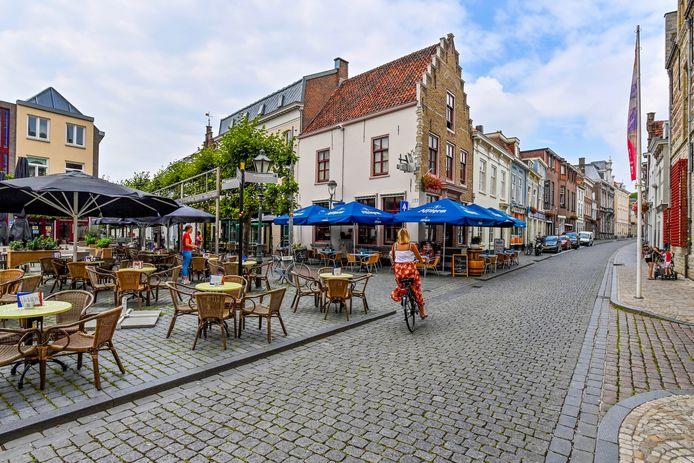 Ook het Beursplein wil graag de terrassen winterklaar maken zodat ze meer gasten kunnen ontvangen.