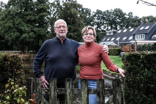 Eddie Siemes en zijn vrouw Jannie.