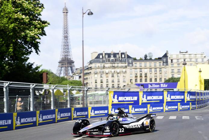 De Formule E in Parijs.