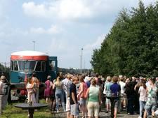 Blauwe Engel dendert - met omweg - richting Almelo