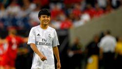 """Amper 18 jaar oud, maar dit Japanse talent maakt indruk bij Real: """"Ik hou niet van zoveel aandacht"""""""