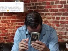 Bas Nijhuis leest haattweets voor: 'Hij zal wel een heel klein piemeltje hebben'