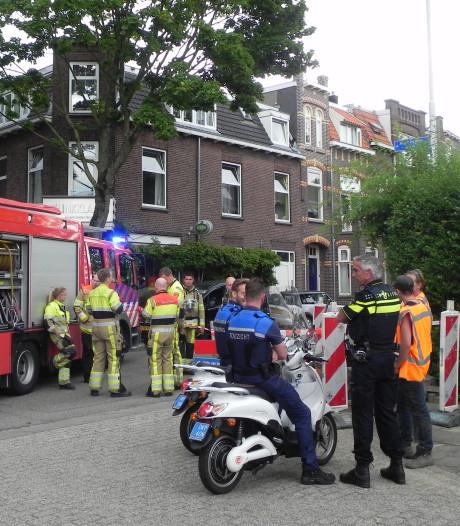 Graafmachine veroorzaakt gaslek in Nijmegen: 'Hoorde het gas sissen'