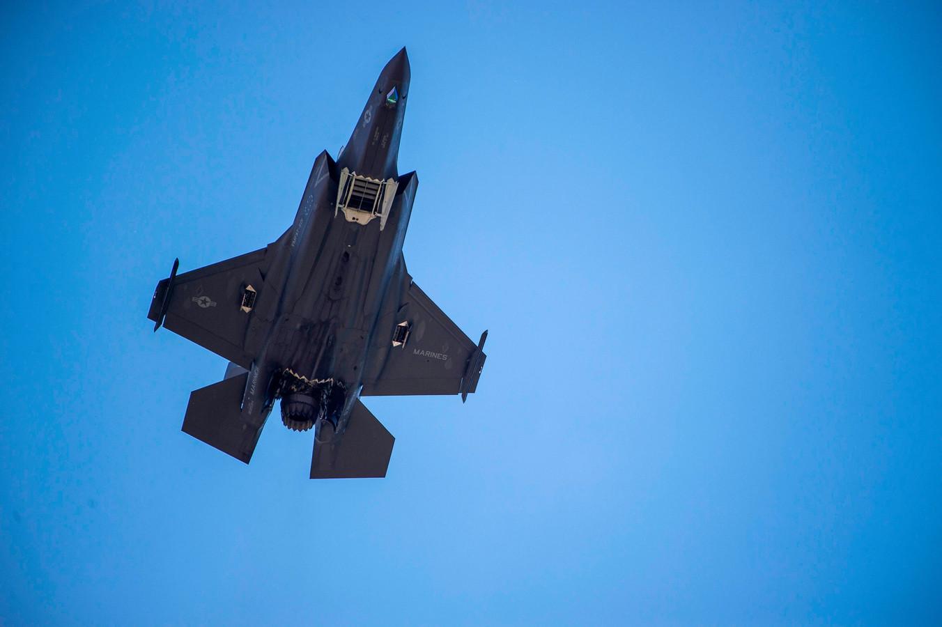 Archieffoto van een F-35.
