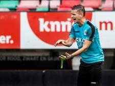 NEC-trainer Rogier Meijer geniet nadat hij 'stad en land heeft afgebeld'