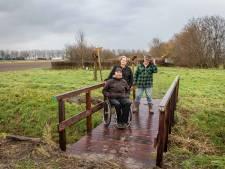 Vrouweputje is dankzij nieuwe brug nu ook voor rolstoelen toegankelijk