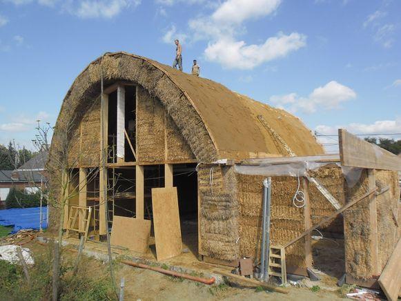 Huis van stro