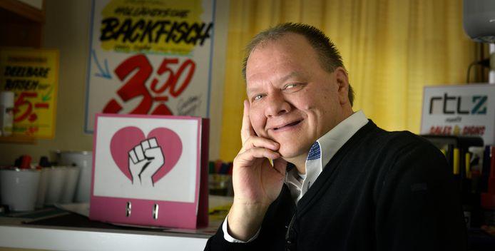 René Beunders is de voorman van belangenorganisatie Stichting Sociaal Hart Enschede.