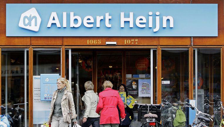 Een filiaal van Albert Heijn aann de Oostelijke Handelskade in Amsterdam. Foto ANP Beeld