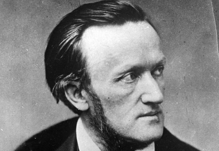 Componist Richard Wagner. Beeld ap