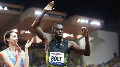 Zuinige zege voor Bolt in Diamond League Monaco