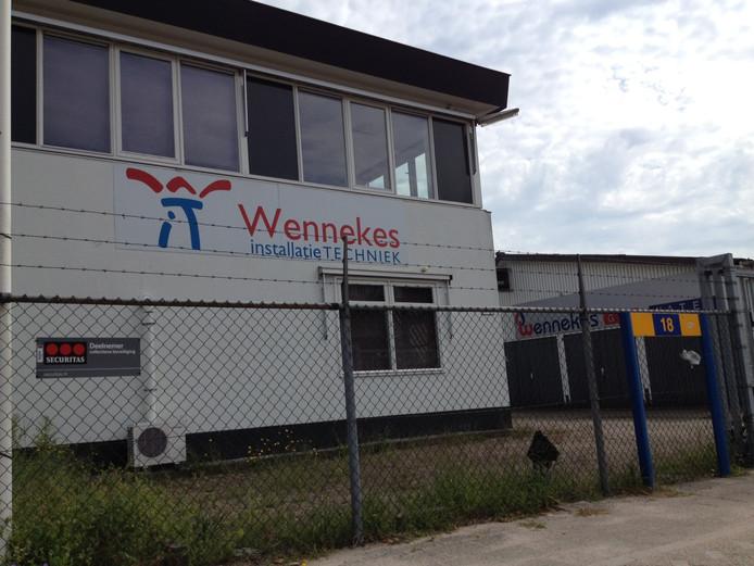 Het pand van Wennekes Installatietechniek in Ede.