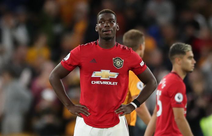 Paul Pogba is er morgenmiddag tegen Leicester City niet bij.