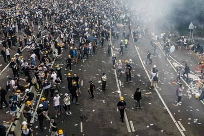 chaos-in-hongkong-na-nieuwe-massabetoging-tegen-omstreden-uitleveringswet