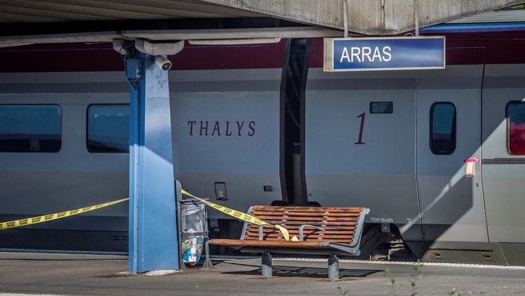 De schutter werd in 2015 in de Franse plaats Arras aangehouden. Beeld ANP