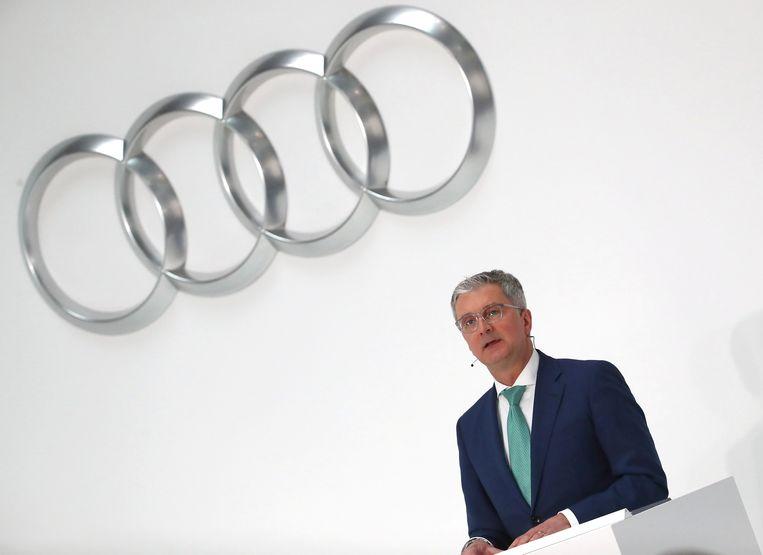 Audi-CEO Rupert Stadler werd door meerdere ingenieurs van betrokkenheid beschuldigd.