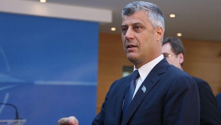 De Kosovaarse premier Hasim Thaçi. Beeld epa