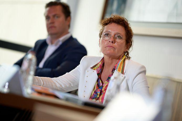 Minister Lydia Peeters wil dat het alternatief een oplossing biedt voor de ganse regio, en niet enkel voor de Grote Baan.