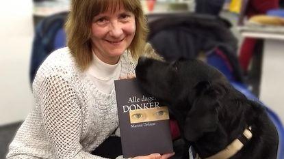 Nieuw boek Marina Defauw steunt blindengeleidehonden