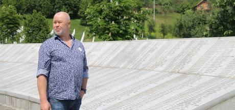Helmondse veteraan even terug in Srebrenica