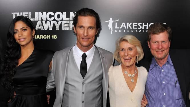 "Matthew McConaughey praatte acht jaar lang niet met z'n moeder: ""Ze genoot meer van m'n roem dan ikzelf"""