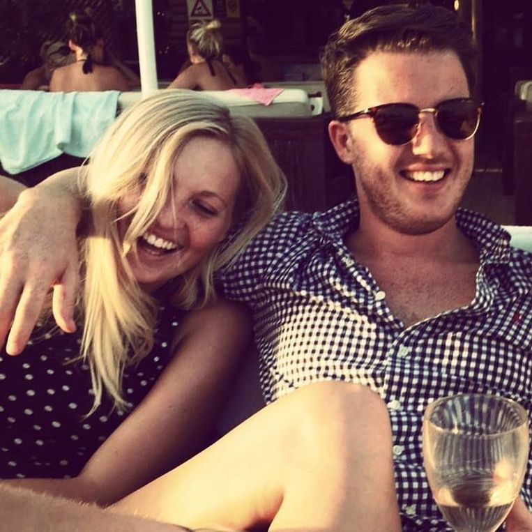 Jacob Rogers en zijn vriendin Jessica.