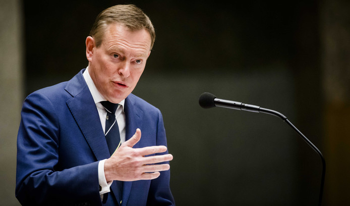 Minister Bruno Bruins voor Medische Zorg (VVD).