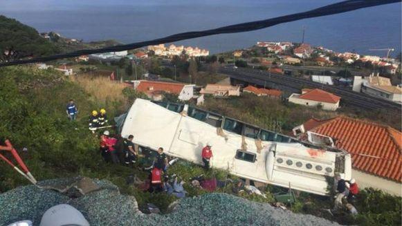 Meerdere doden bij ongeval met toeristenbus op Madeira