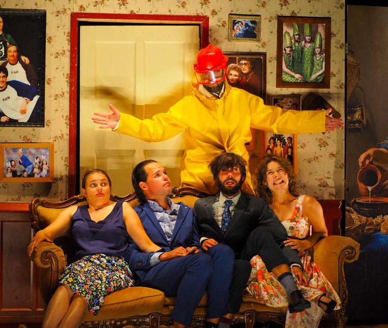 'Kaal' door De Theatertroep. Beeld Nicole Kienhuis