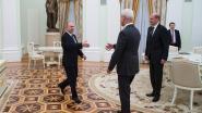 Topman Volkswagen bezoekt Poetin