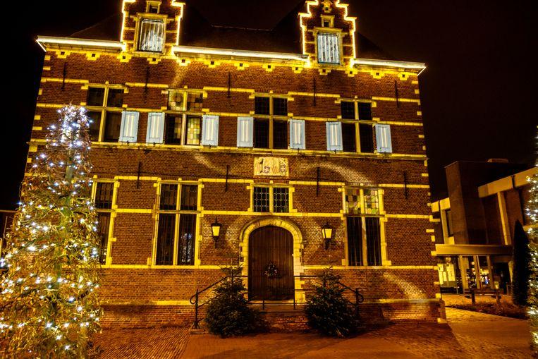 Het Aartselaarse gemeentehuis.