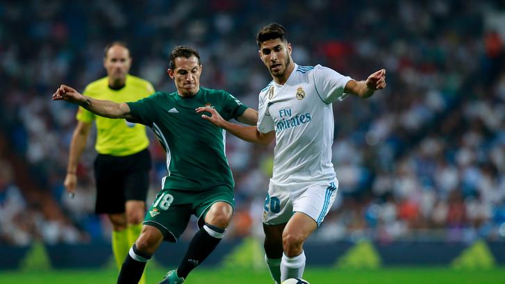 Real Betis steelt de punten in Madrid