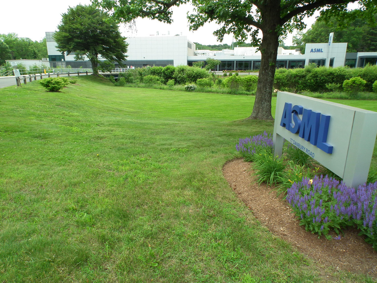ASML in Wilton dicht bij New York in de USA.