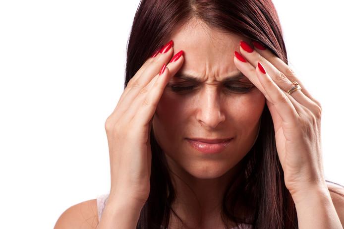 Migraine / Hoofdpijn FOTO: Dreamstime