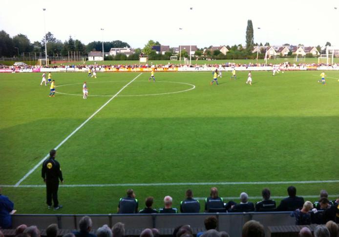 Dongen speelt voor de beker tegen Go Ahead Eagles Foto Yadran Blanco