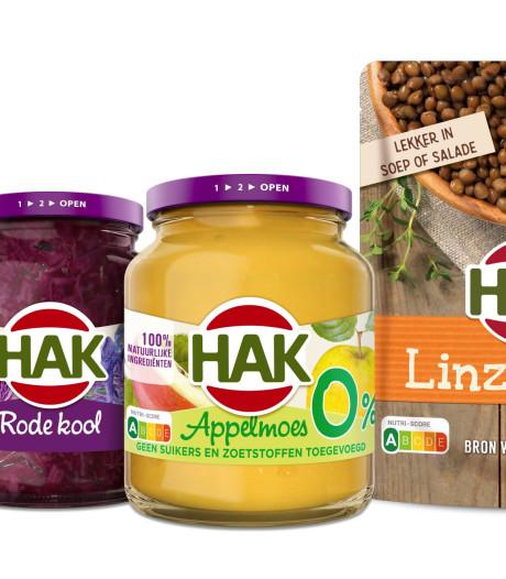 HAK voert als eerste voedselfabrikant Nutri-Score in: 'waar wachten we nog op?'