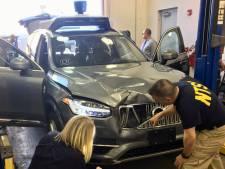 Zelfrijdende auto die vrouw doodreed was gedeeltelijk uitgeschakeld