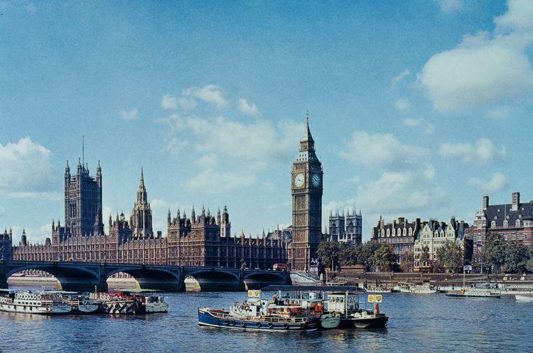 De Houses of Parliament en Big Ben. Beeld Getty Images