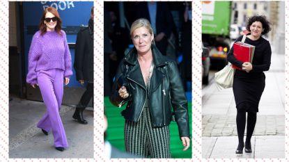 5 bekende vrouwen boven de 50 met een kledingstijl om je door te laten inspireren