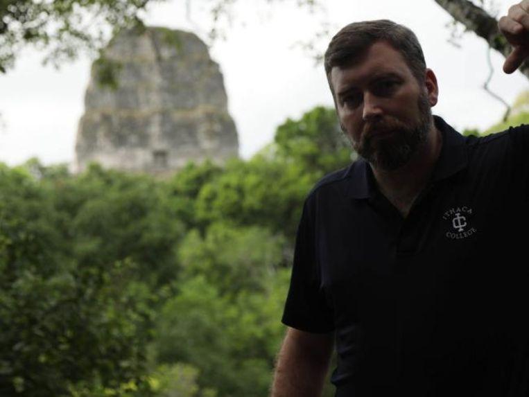 Onderzoeker Tom Garrison