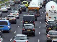 Lange file tussen Zwolle en Apeldoorn door onwelwording