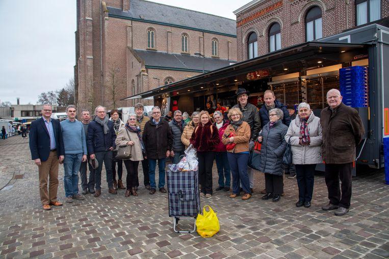 Winnaars marktactie Merelbeke.