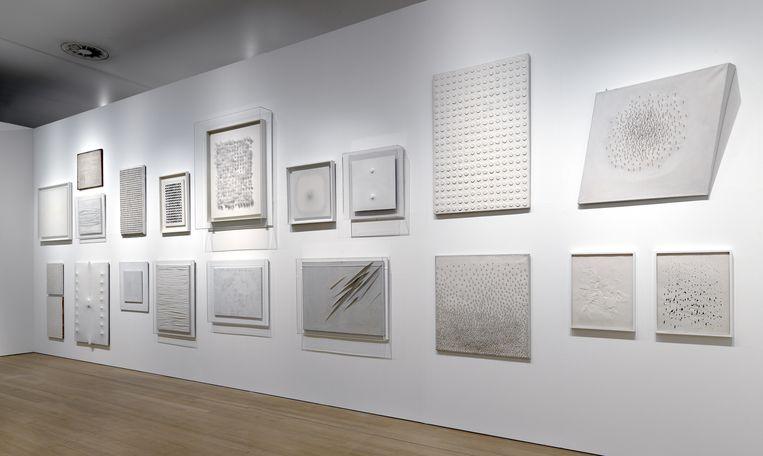 De tentoonstelling Zero: Let us Explore the Stars in het Stedelijk Museum in Amsterdam. Beeld Gert Jan van Rooij
