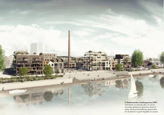 Een impressie van plan 'De Melkfabriek'. Illustratie: Studioninedots/Studiospacious/BPD